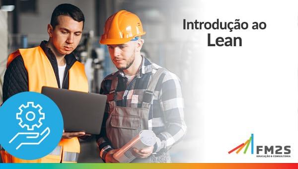 banner de oferta ao curso introdução ao lean manufacturing blog fm2s