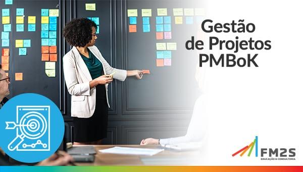 banner de convite para o curso de gestão PMBOK