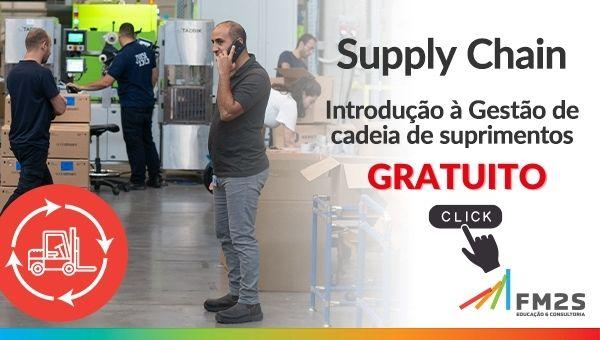 banner de oferta por tempo limitado no curso de supply chain da fm2s EAD